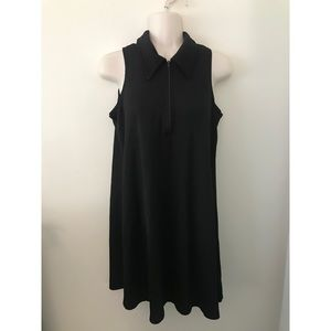 🌿 90's Vintage Black Tennis Shift Dress